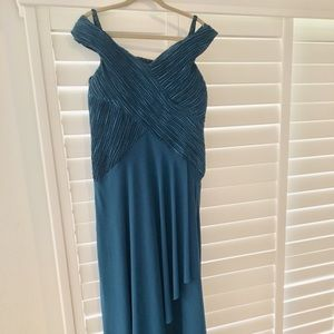 NWT mother of the bride dress size12 teal